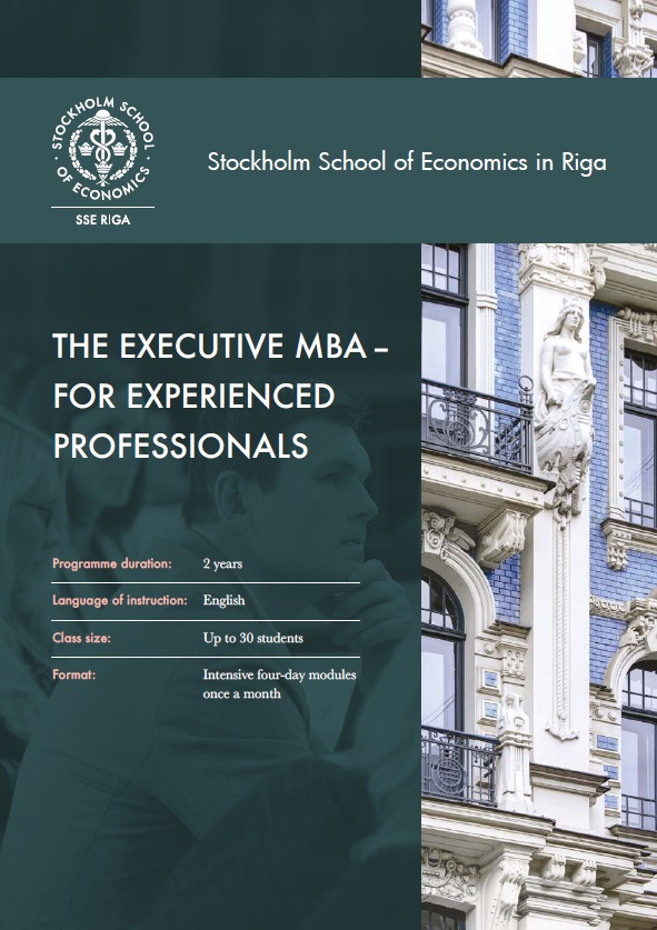 EMBA brochure cover